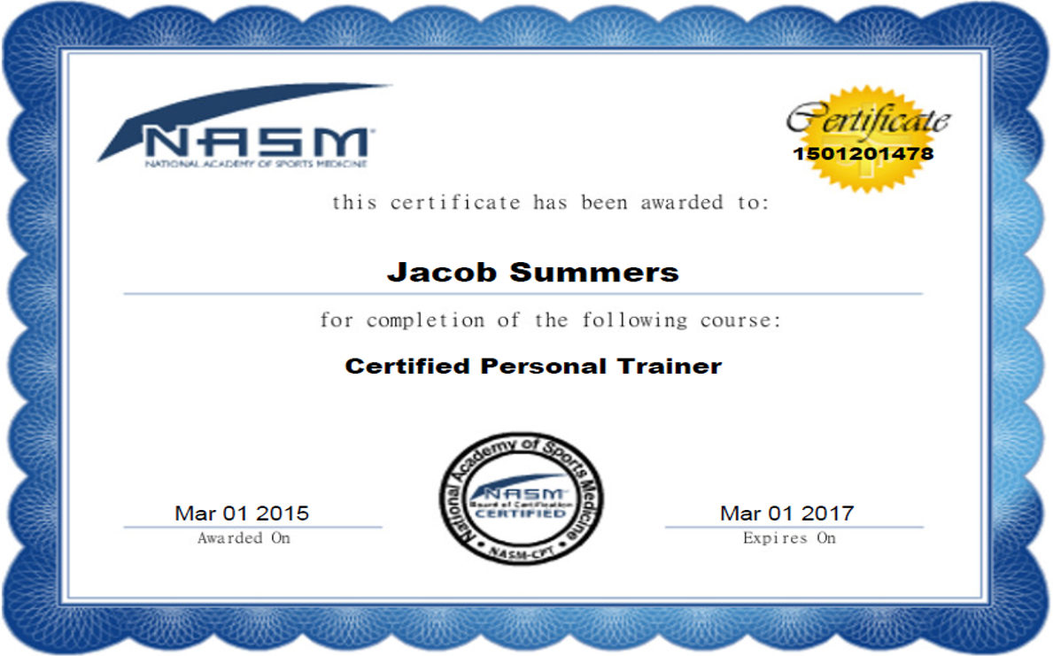 List Of Synonyms And Antonyms Of The Word Nasm Personal Training