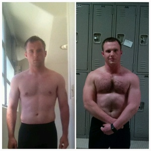 My fitness journey began two years ago in August 2011