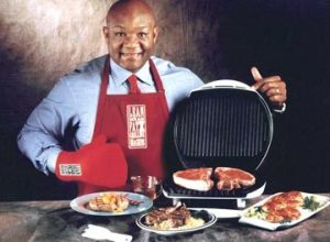 Seriously. This man is our friend. And so is his grill.